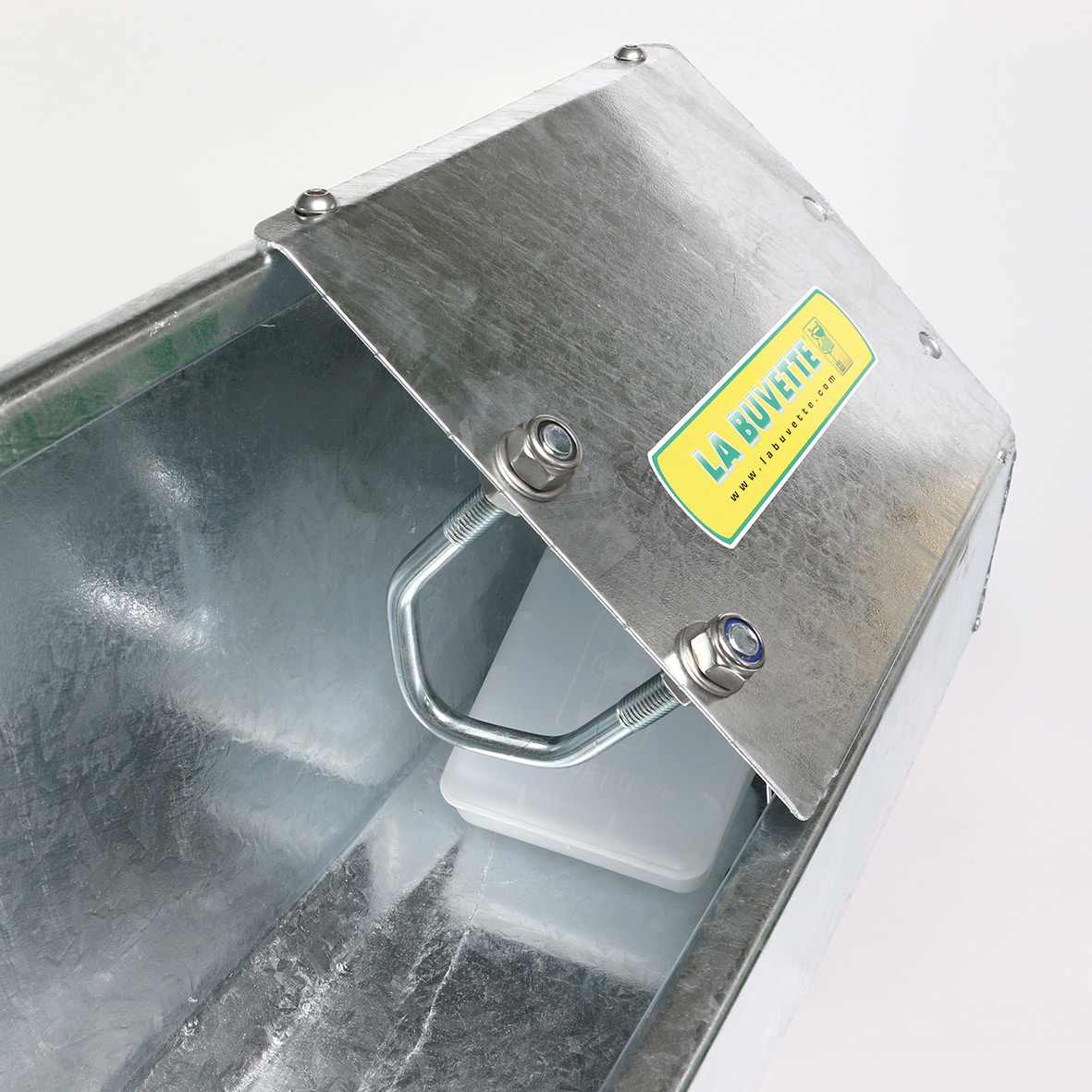 OVICAP 120 GALVANISED DRINKING TROUGH