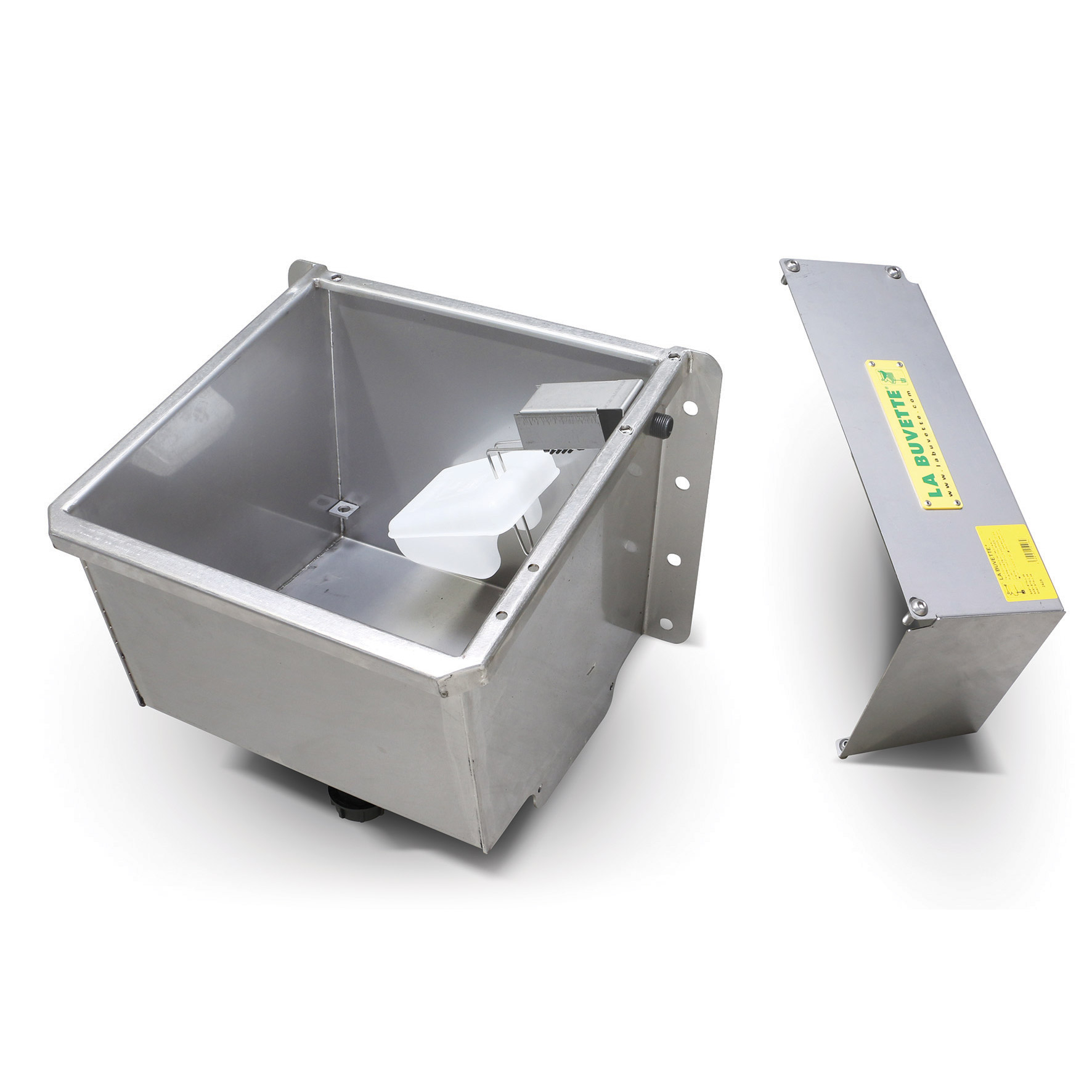 EASY-STALL 45 S.S. Drinking Trough with Float Valve