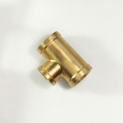 10 X BRASS LOCK NUT F11