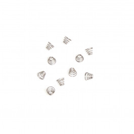 10 X STAINLESSSTEEL SPRING