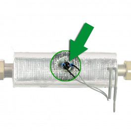 Security thermostat for heating element spare part