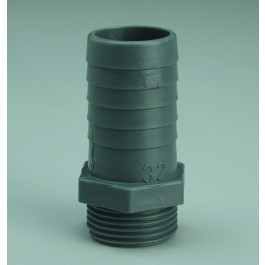 GROOVED AND THREADED FITTING 1""