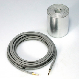 HEATING CABLE 24v-22W 3 m long