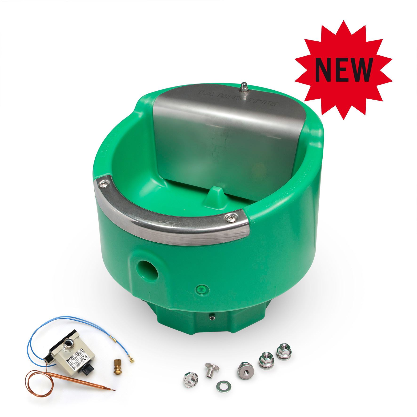 Frost-free drinking bowl with constant water level LAKCHO2